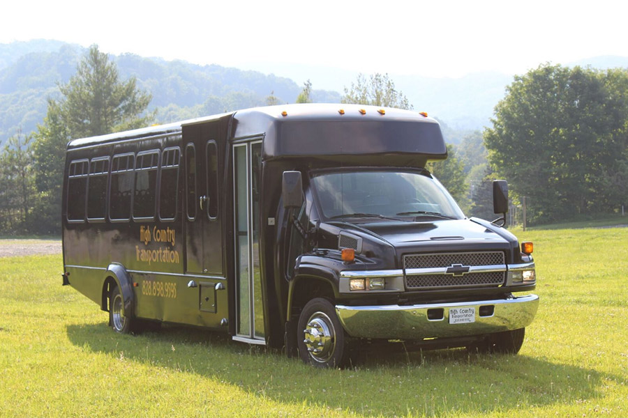 Executive Coaches - High Country Transportation Services